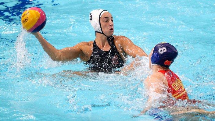 USA women's water polo falls to Hungary…