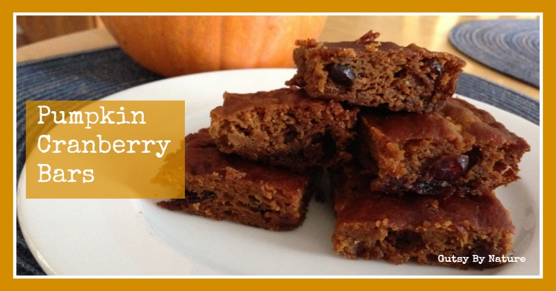 pumpkin cranberry bars 2