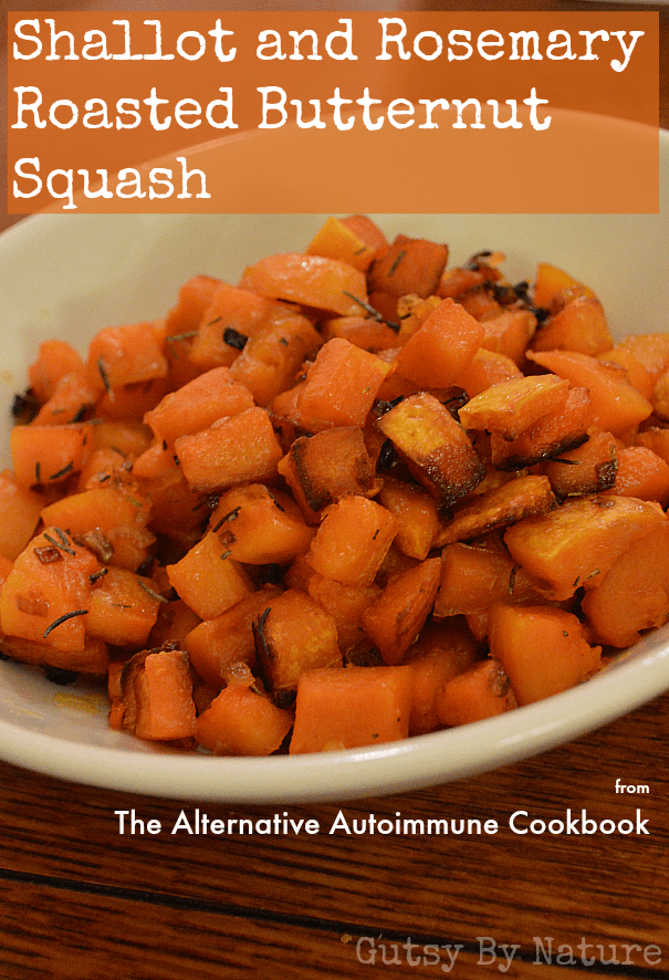 shallot and rosemary roasted butternut squash 2