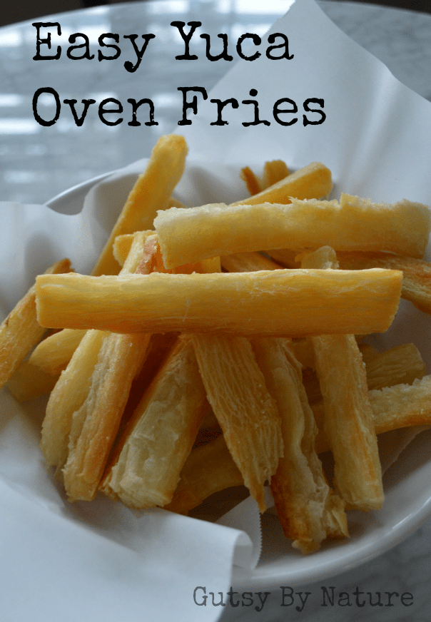 easy yuca oven fries 2