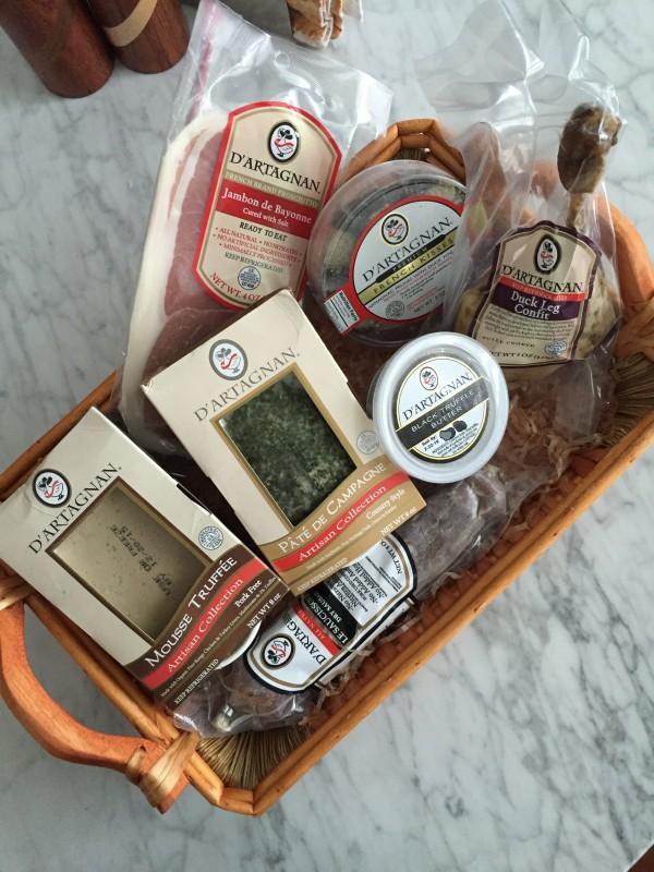 d'artagnan meat gift basket