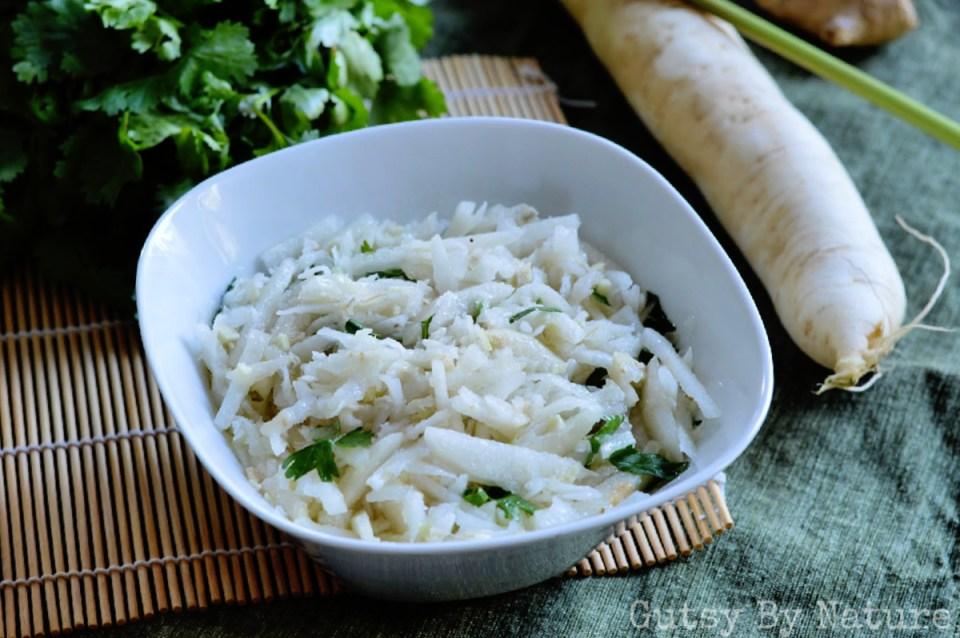 daikon radish salad