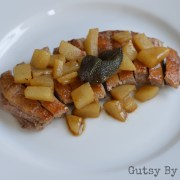 Pan-Seared Duck Breast with Sage & Pear Sauce