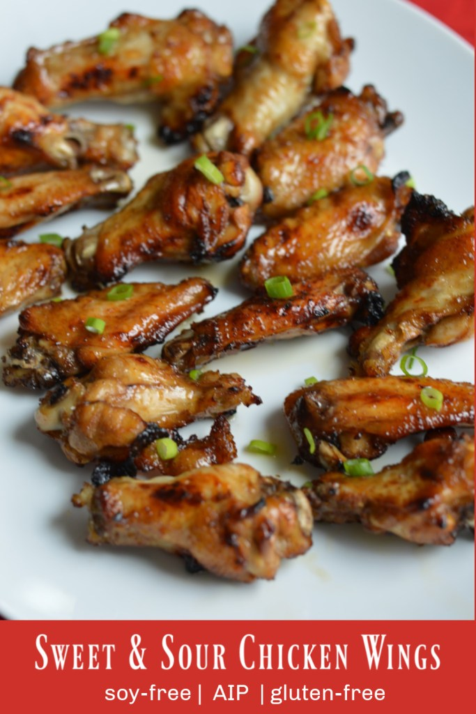 Sweet & Sour Chicken Wings (AIP)