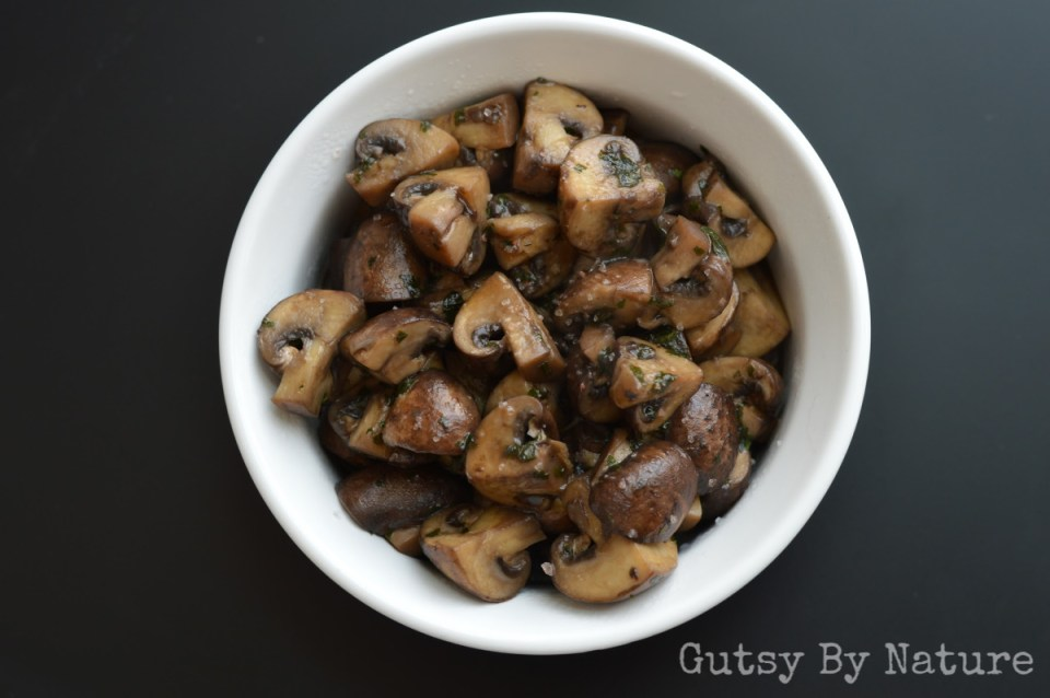 Easy Sauteed Mushrooms (AIP, SCD, Whole30)