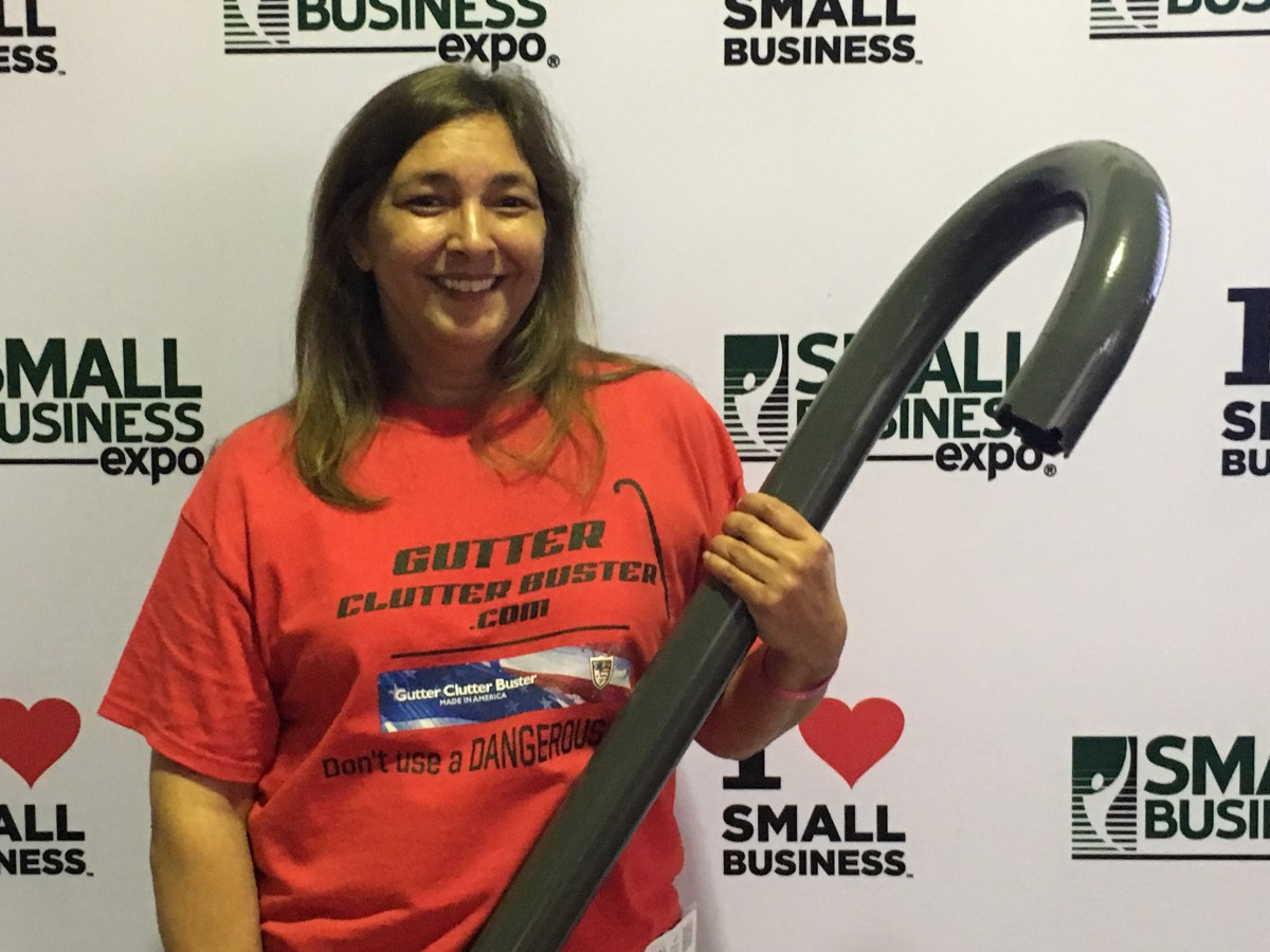 Jennifer with GCB Tool at Small Bus Expo