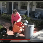 Cleanup is simple and quick using the Gutter Clutter Buster