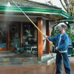 the wrong way to clean gutters