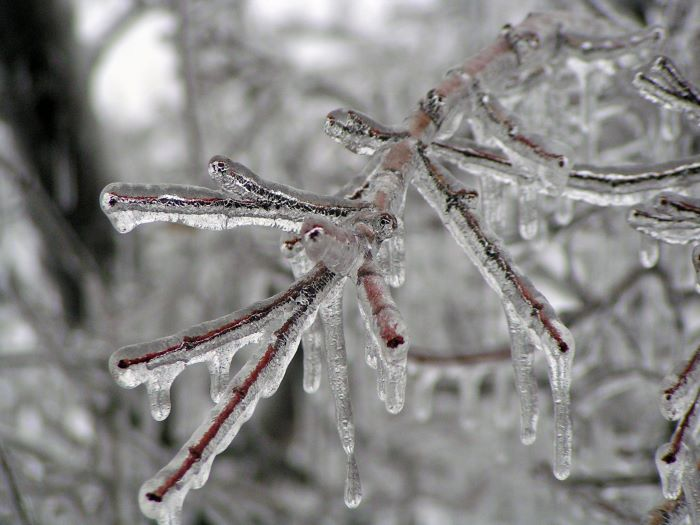 home maintenance ice storm wichita kansas