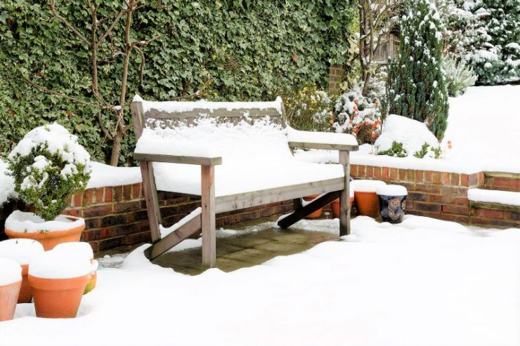 snow patio furniture home maintenance wichita ks