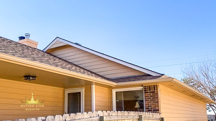 gutters prevent erosion around the foundation of your home gutter king wichita seamless guttering