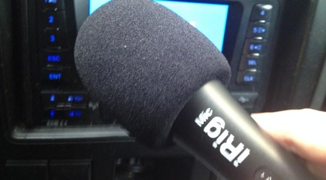 Test mikrofonu iRig Mic