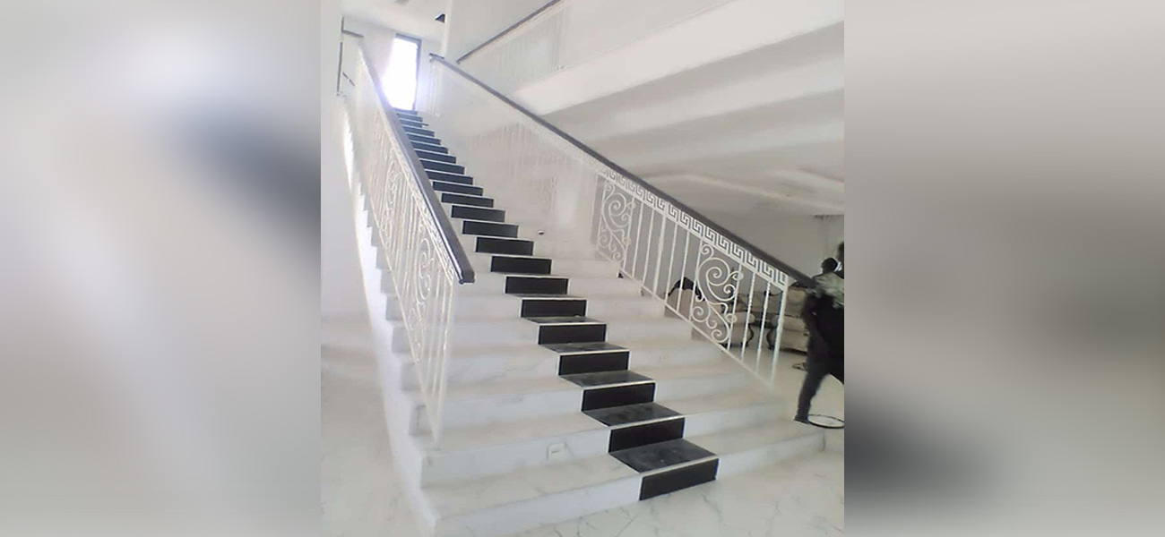 white house stairs