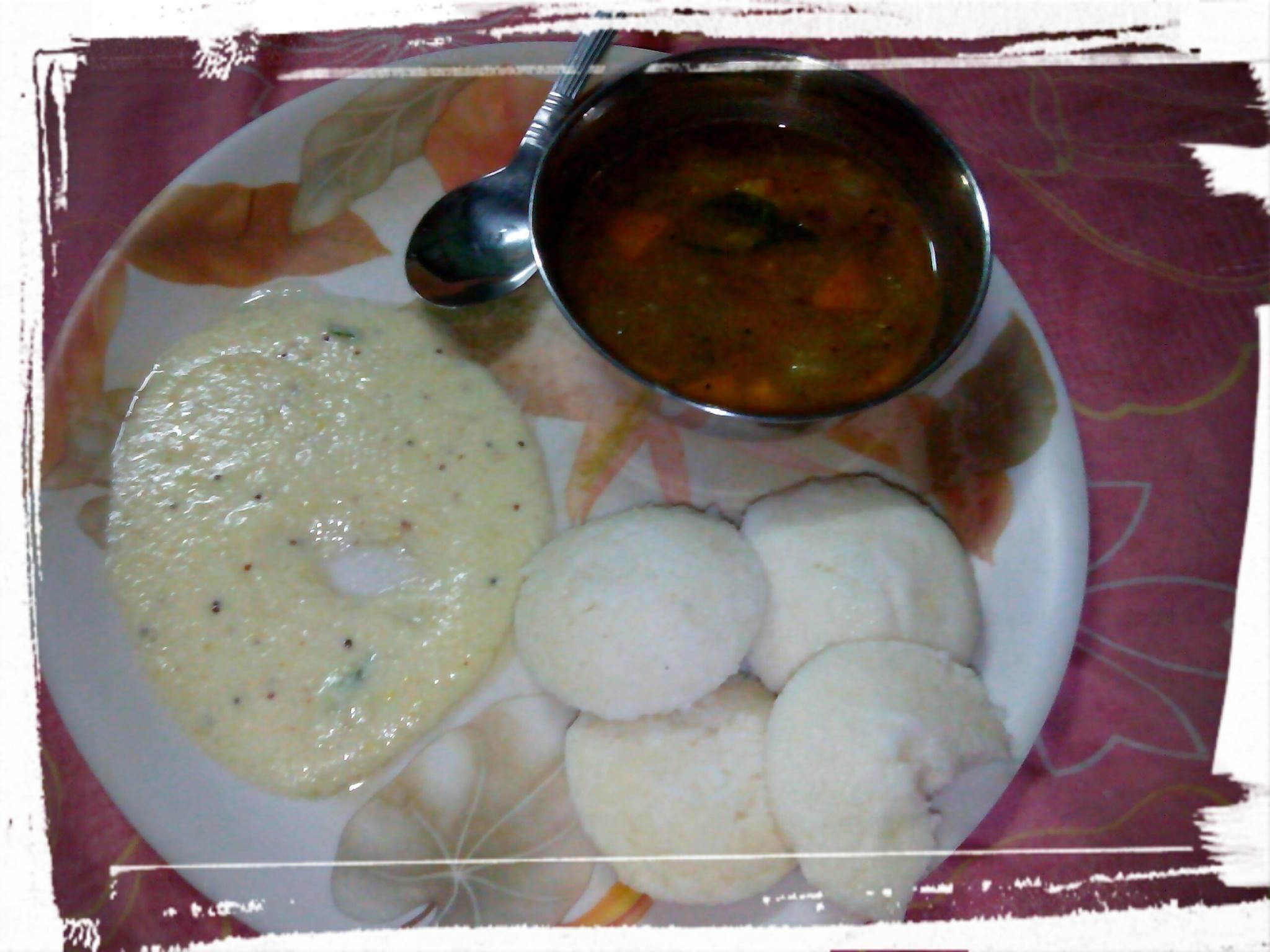 South Indian Breakfast by Bishakha Roy #GuwahatiFoodie