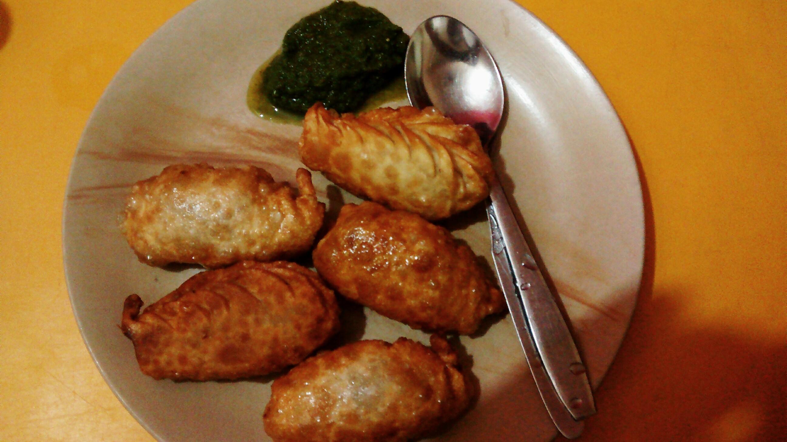 Fried Momos @ Momo Station #GuwahatiFoodie