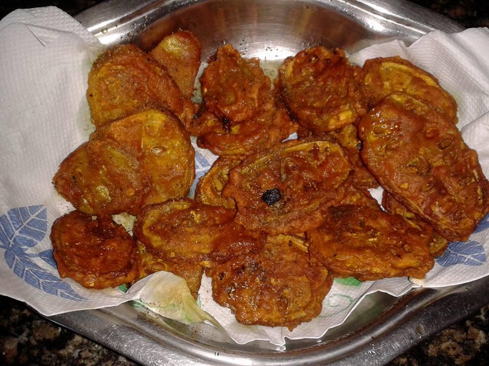 Teasel Gourd fitters by Priyakshi Das #GuwahatiFoodie