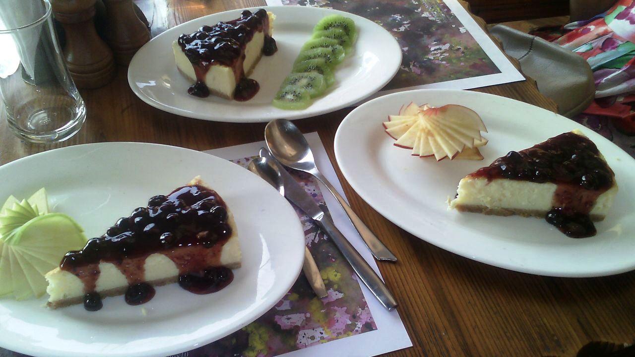 Blueberry Cheese Cake @Terra Maya by Harshita #GuwahatiFoodie