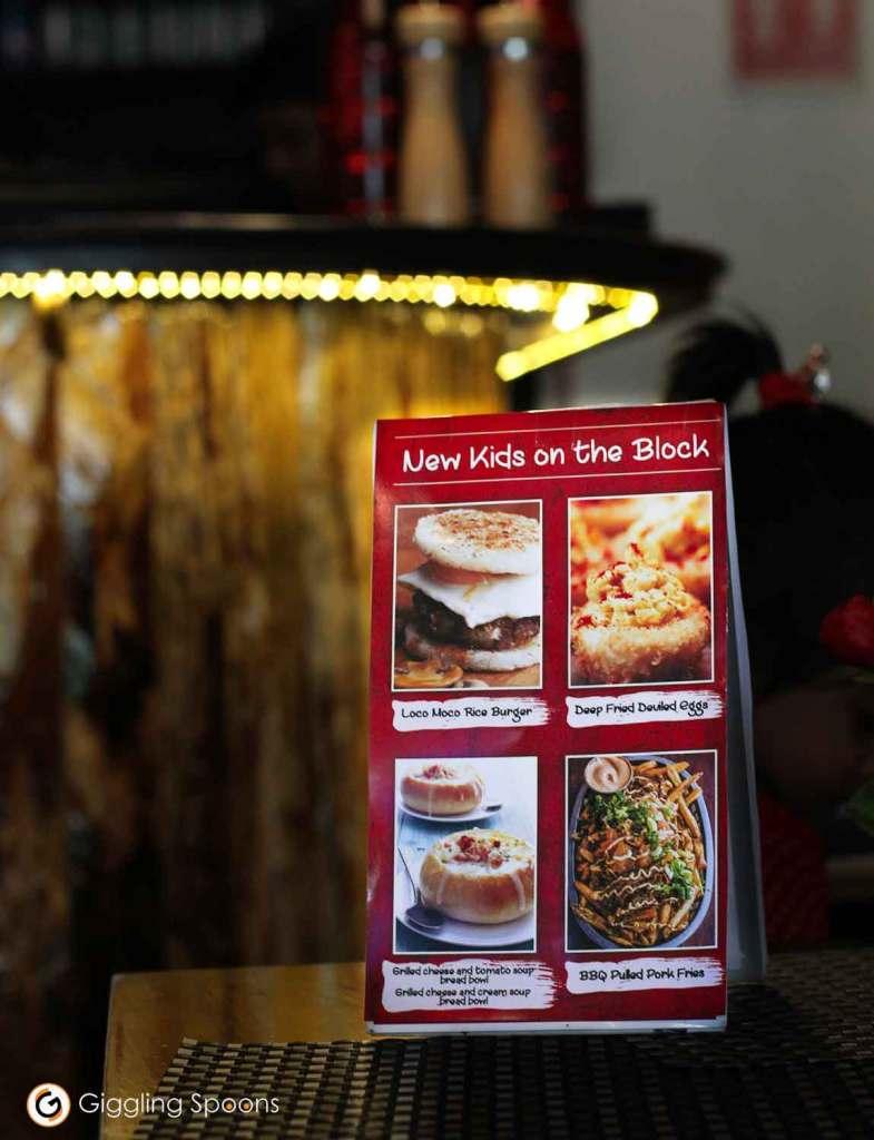 Corner Cafe menu