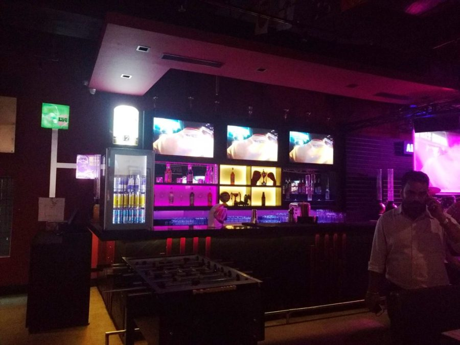 Bar at Underdoggs Guwahati
