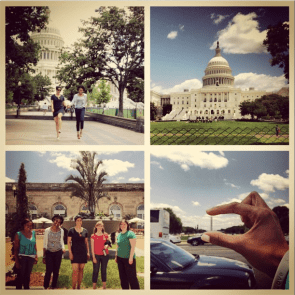 The Registars go on a Capitol Loop. Racking up tho bonus points with social media & walking the Route of the Week