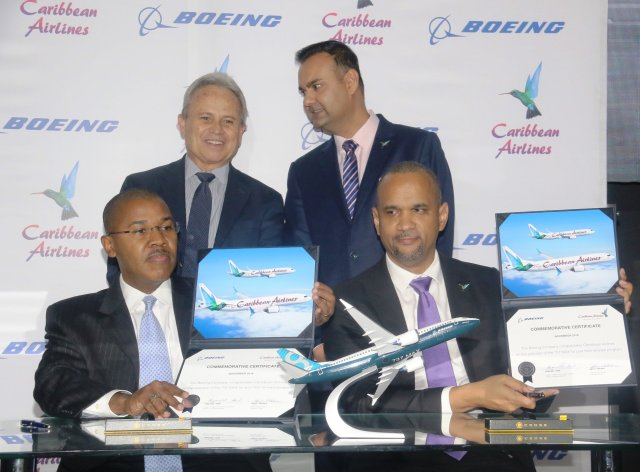 Caribbean Airlines to acquire 12 737MAX8