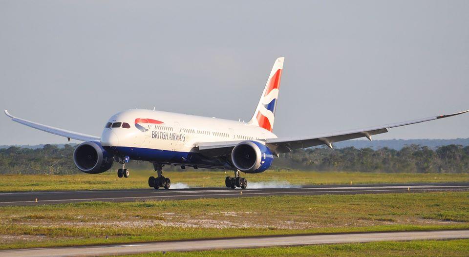 British Airways B788