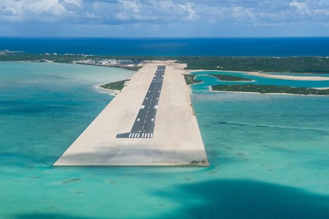 Ambergris Cay Runway