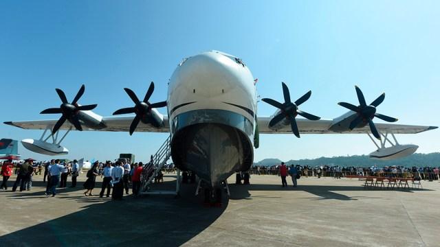 AG600 kunlong amphibious aircraft