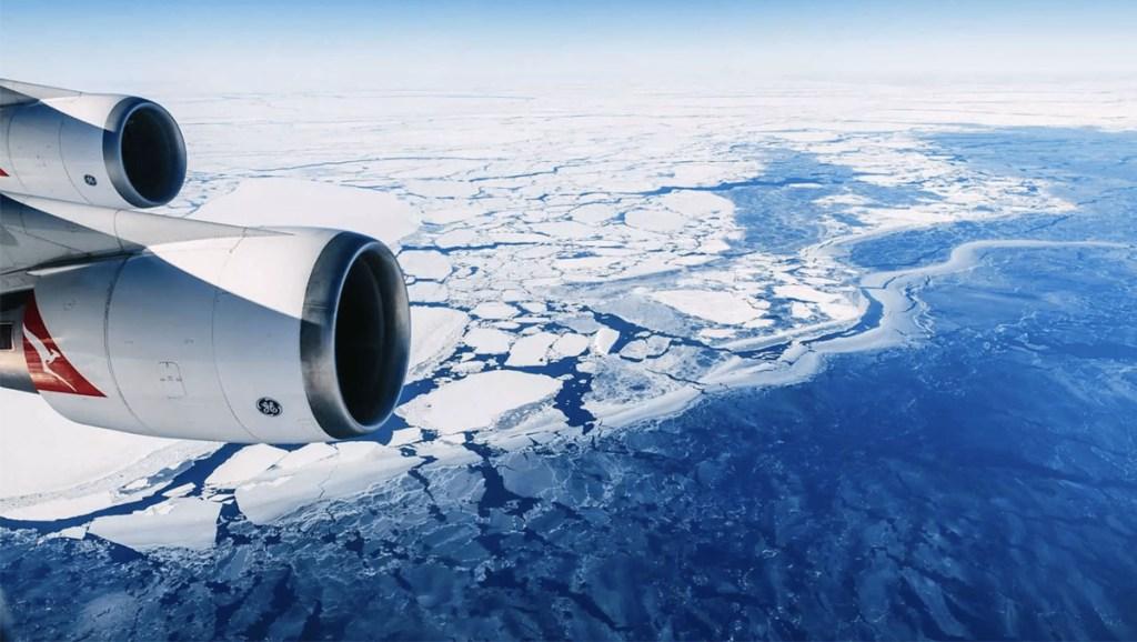 Antarctica scenic flights