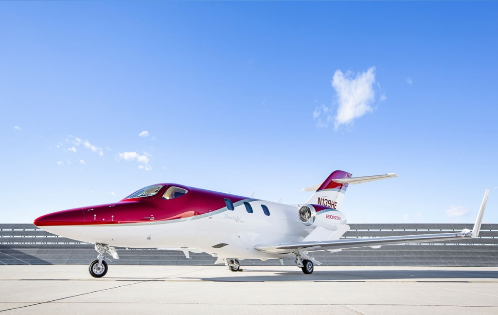 Hondajet airshow