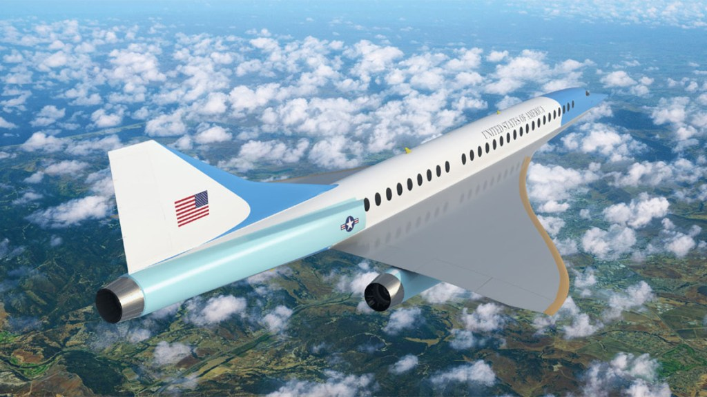 Boom USAF executive transport