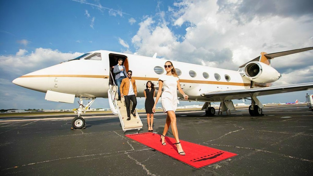 private jet travel caribbean