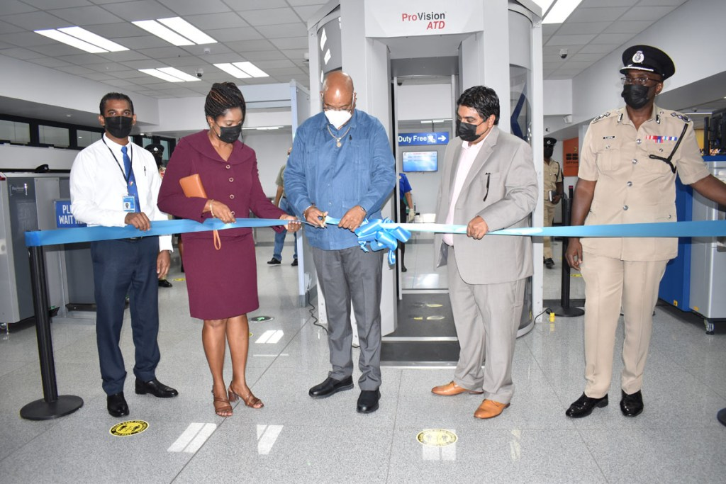 CJIA commissions security equipment