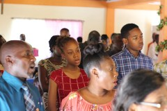 Scenes from the community Outreach service