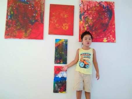 Meet Guyana's Youngest Professional Painter – Kuwanau Roberts