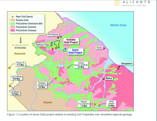 Guyanas lucrative gold sector attracts new large scale producer guyanas lucrative gold sector attracts new large scale producer inews guyana sciox Images