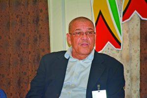 GRA Commissioner General Godfrey Statia