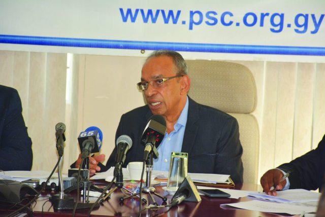 PSC Chairman Eddie Boyer