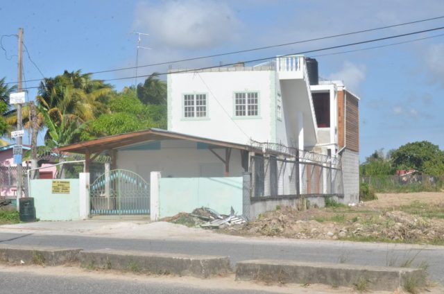 The Hydronie, Parika, East Bank Essequibo address of Caribbean Medical Supplies Inc