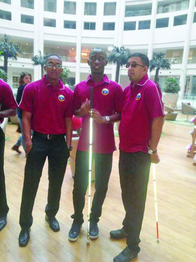 Kevin Douglas, Leroy Phillips and Ganesh Singh