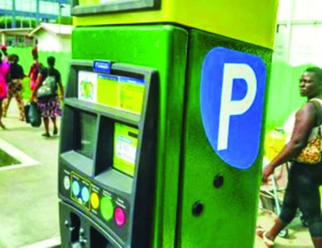 A Parking Meter in Georgetown