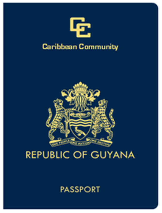 Resultado de imagen para guyana passport
