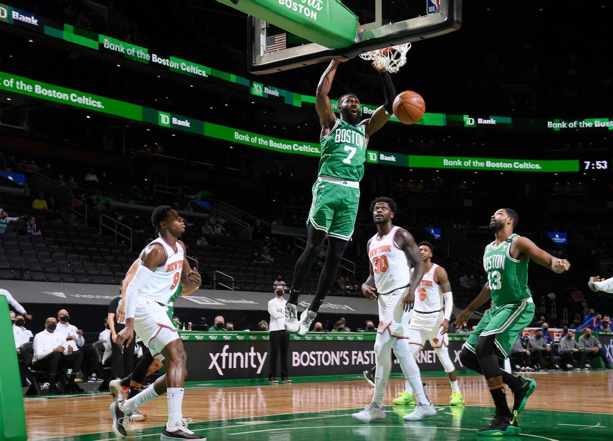 Jaylen Brown Won't Back Down, Leads Celtics to 101-99 Victory Over Knicks
