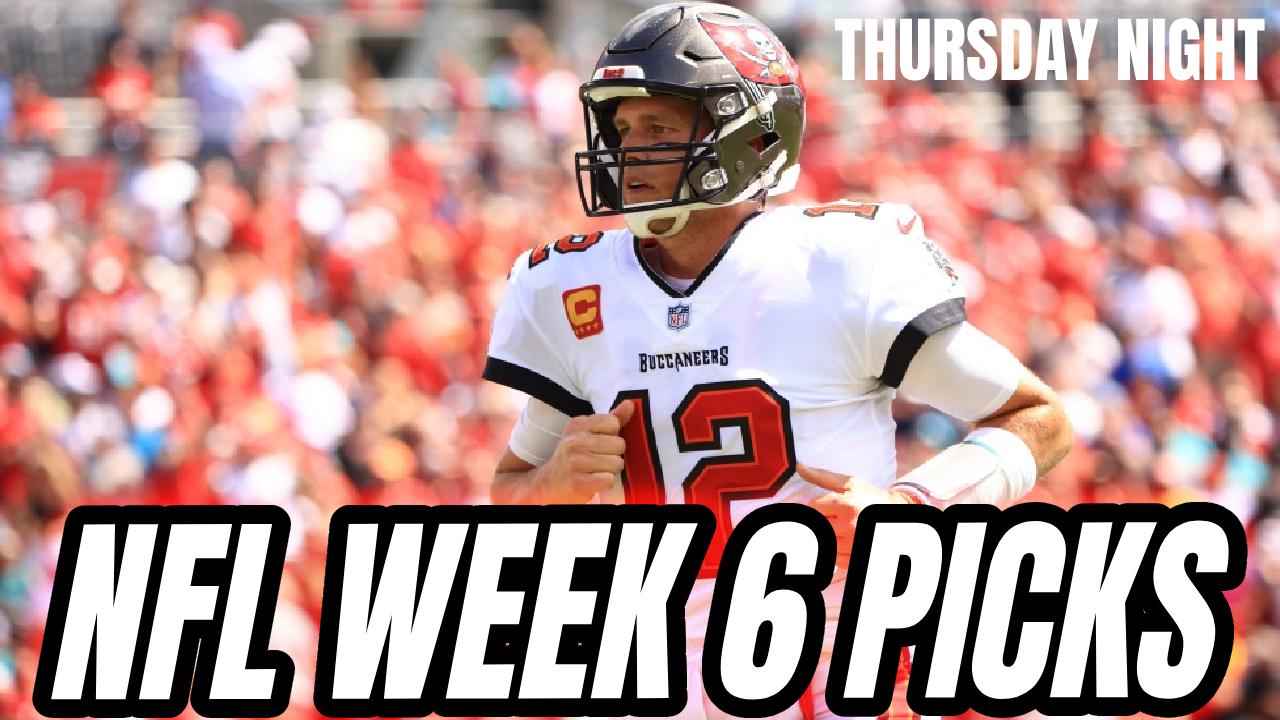 NFL Picks Week 6 (Thursday Night Football )