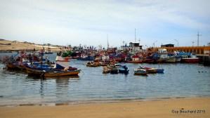 Le port de mer de La Caldera