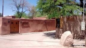 À San Pedro d'Atacama, on y utilise beaucoup l'adobe pour les constructions