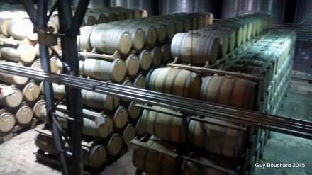 La coopérative de production de Pisco Capel (Vieillissement du Pisco en barils de bois)