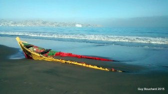 Le tsunami de septembre a frappé fort à Coquimbo et La Serena