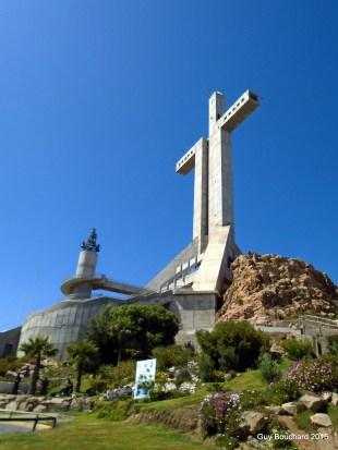 La croix du 3e millénaire bâtie à Coquimbo au tournant de l'an 2000