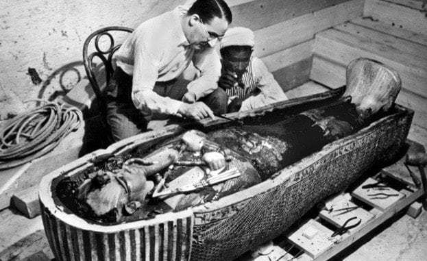 History of leather king tut